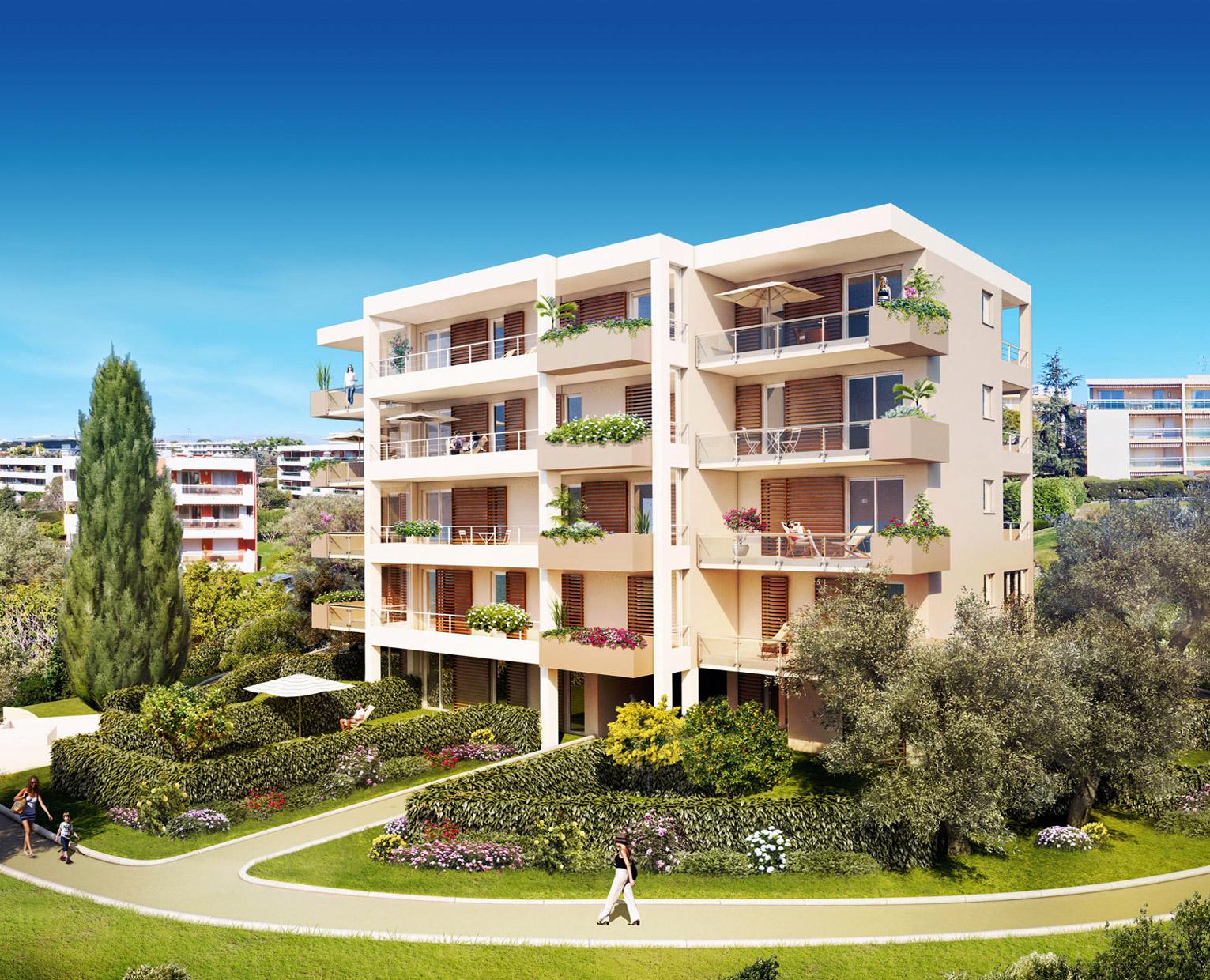 Programme Immobilier Antibes Le Clos Des Blanquetiers